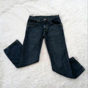 Wrangler Straight Leg Blue Jeans WP1